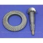 Differential Ring and Pinion SET 10/43 (124 Spider Coupe 1970-78) - OE