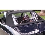 ROBBINS - Convertible Top Black Cloth (Lancia Zagato 1979-82) - NEW