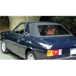 ROBBINS - Convertible Top Black Vinyl (Lancia Zagato 1979-82) - NEW