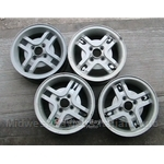 Alloy Wheels SET 4x Cromodora CD-91 (Fiat X19, 124, 128, 850) - U8