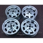 Alloy Wheels SET 4x F.P.S. 14x6 (Lancia Beta) - U7