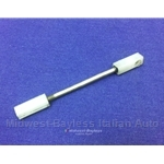 Door Lock Pawl Rod (Fiat Pininfarina 124 Spider 1979-85 + 850 Coupe) -  U8
