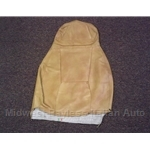 Seat Cover Upper Tan (Fiat X19 1976-78) - OE
