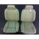 Seat Pair Front Tan (Fiat Pininfarina Spider 2000 1979-82 + All) - U8