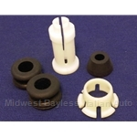Shifter Lever Extension Handle Bushing KIT (Fiat 124 All 4-Spd + 5-Spd) - NEW