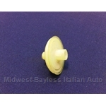 Side Molding Trim Retaining Clip - 26.5mm (Fiat 124 Sedan/Coupe, 128) - OE NOS