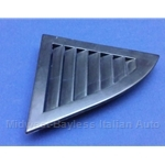 Side Vent C-Pillar Left Black (Lancia Beta Coupe All) - OE NOS