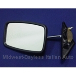 Side View Mirror Left (Fiat 131 4-Dr, Wagon 1975-78) - OE NOS