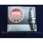 Spark Plug SET 4x NGK (Fiat Lancia SOHC DOHC All + 850) - NEW