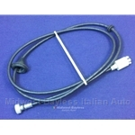 Speedometer Cable (Fiat 124 Spider 1979-85 w/AT) - NEW