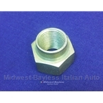 Spindle Hub CV Stake High Nut 18mm (Fiat 128 Front, Fiat 124 Abarth Rear) - OE NOS