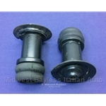 Spring Perch Pair Rear (Fiat Bertone X19 1980-88) - U8