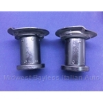Spring Perch Pair Rear (Fiat X19 1973-79) - U8