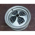 "Steel Wheel ""Cloverleaf"" 13x5 (Fiat X1/9 1979 + All / Other FIAT) - U7.5"
