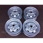 Steel Wheels SET 4x 13x4.5 (Fiat X1/9 1973-78, 128) - RECONDITIONED