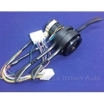 Steering Column Switch Assembly 2-Pos Lights NA (Fiat 124 Spider Coupe 1973-1982) - NEW