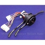 Steering Column Switch Assembly - Euro 3-Position Lights  (Lancia Montecarlo) - NEW