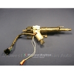 Steering Column w/Ignition Switch and Key (Lancia Beta Zagato Coupe 1979-On) - U8
