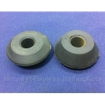 Strut Upper Rubber Bushing PAIR (Fiat 128, 124 CSA) - OE