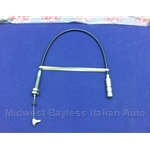 Automatic Transmission Kick Down Cable (Fiat 124 Sedan Wagon 1974) - OE NOS