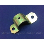 Sway Bar Bushing Clamp Outer Front Left (Fiat 124 All) - OE