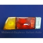 Tail Light Assembly Left - Amber (Fiat Bertone X1/9 All) - U8