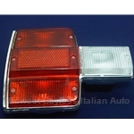 Tail Light Assembly Left - Red (Fiat 131 Sedan 1975-78) - OE NOS