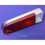 Tail Light Assembly Left (Fiat 850 Spider 1970-73) - OE NOS