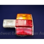 Tail Light Assembly Right - Amber (Fiat 131 Sedan 1975-78) - OE NOS