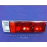Tail Light Assembly - Right - Red (Fiat 124 Spider 1970, 1973-78) - OE NOS