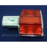 Tail Light Assembly Right - Red (Fiat 131 Sedan 1975-78) - OE NOS