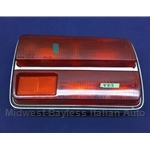 Tail Light Assembly Right (Fiat 124 Coupe 1970-72) - OE NOS