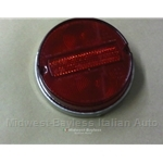 Tail Light Lens Left / Right (Fiat 850 Sedan Coupe, 1100R) -U8