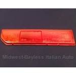 Tail Light Lens Lower Left (Lancia Beta Coupe All) - OE