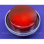 Tail Light Lens Outer Assy (Fiat 850 Coupe) - OE NOS