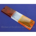 Tail Light Lens Right Lower (Fiat Brava Sedan 1978.5-82) - OE NOS
