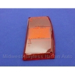 Tail Light Lens Right Red (Fiat 131 Wagon 1975-76) - OE NOS