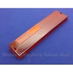 Tail Light Lens Right Upper Red (Fiat Brava Sedan 1978.5-82) - OE NOS