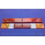 Tail Light Lens Set Complete Altissimo (Fiat Brava Sedan 1978.5-82) - OE NOS