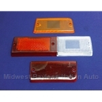 Tail Light Lens Set Left Altissimo (Fiat 131 Sedan 1977-78.5) - OE NOS
