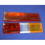 Tail Light Lens Set Right Altissimo (Fiat Brava Sedan 1978.5-82) - OE NOS