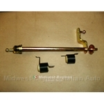 Throttle Linkage (Fiat X1/9 Carb 1979-On) - RENEWED