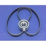 Cam Timing Belt + Tension Bearing KIT SOHC 1500 (Fiat Bertone X19 1979-88) - NEW