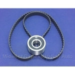Cam Timing Belt + Tension Bearing KIT SOHC 1300/1100 (Fiat X19, 128) - NEW