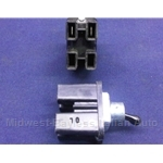 Toggle Switch 2-Pin / 2-Position (Fiat 850, 1100, 1200, 600, Dino) - OE NOS
