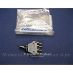 Toggle Switch 4-Pin / 2-Position Fog Light (Fiat 850 68-71) - OE NOS