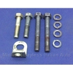 Transmission Bell Housing to Block Hardware Bolt Set (Fiat 124 All) - U8