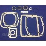 Transmission Gasket Set w/Seals 5-Spd (Fiat 124 Spider, Coupe) - NEW