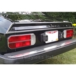 Rear Valence Stainless Trim Right (Lancia Beta Coupe All) - OE NOS