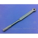 Trunk Jack Handle Ratcheting Wrench (Fiat 124 Coupe Spider, Lancia Beta All) - U8